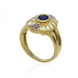 Pre-owned Sapphire Ring