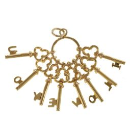 Pre-Owned 9ct Yellow Gold Keys Charm - 3.28g