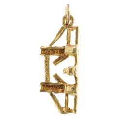 Pre-Owned 9ct Yellow Gold Bridge Charm - 1.5g