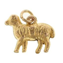 Pre-Owned 9ct Yellow Gold Sheep Charm - 0.5g