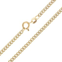 Pre-Owned 9ct Yellow Gold Curb Chain - 11.77g
