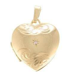 Pre-Owned 9ct Yellow Gold Locket - 1.73g
