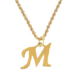 Pre-Owned 18ct Yellow Gold Initial Necklace  - 2.4g