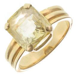 Pre-Owned 14ct Yellow Gold Gemstone Ring - 9g
