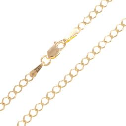 18ct Yellow Gold Curb Chain - 2.3mm - 4.03g