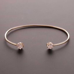 Pre-owned 18ct Yellow Gold  Bangle - 5g