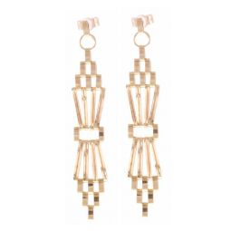 Pre-owned 9ct Yellow Gold Gate Earrings