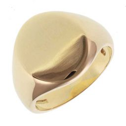 Pre-owned 18ct Yellow Gold Classic Signet Ring - 11g