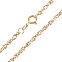 """Pre-owned 9ct Yellow Gold Prince of Wales Chain - 8g 2.5mm 25.5"""""""