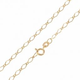 """Pre-owned 9ct Yellow Gold Curb Chain - 2.5mm 16"""""""