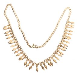 Pre-owned 9ct Yellow Gold Fancy Necklace 6g