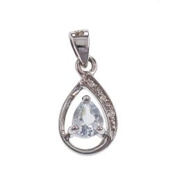 Pre-owned 9ct Gold Drop Pendant