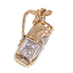 Pre-owned 9ct Gold Charm Pendant - 7g