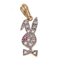 Pre-owned 9ct Gold Bunny Pendant