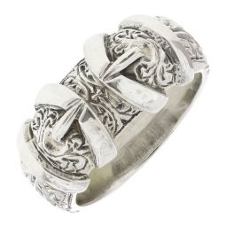 Pre-Owned Silver Buckle Ring - 13G