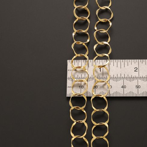 Pre-Owned 18ct Yellow Gold Fancy Necklace - 29g  Gold